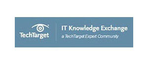 TechTarget - IT Knowledge Exchange, a tech target expert community